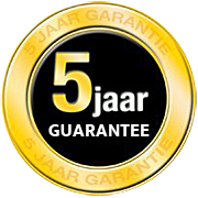 5 Jaar Guarantee